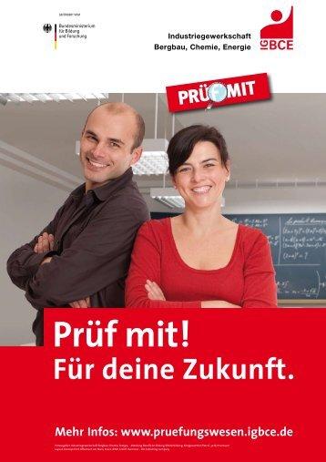 Plakate: Prüf mit! (A3)
