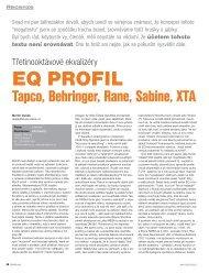 EQ PROFIL - Prodance