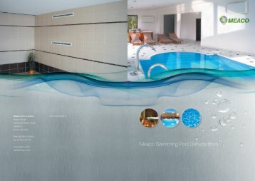 Meaco Swimming Pool Dehumidifiers