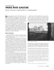 PARIS RIVE GAUCHE - Annales de la recherche urbaine