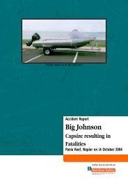 big johnson - Maritime New Zealand