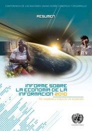 Resumen del Informe sobre la Economía de la Información 2010
