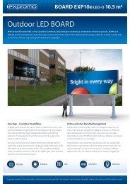 BOARD EXP10e LED-O 10,5 m² - ProShop Europe