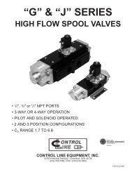 catalog pdf - Control Line Equipment, Inc.