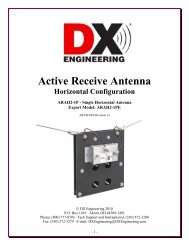 Antenna Tuners - DX Engineering