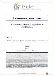 La guerre cognitive - Base de connaissance AEGE
