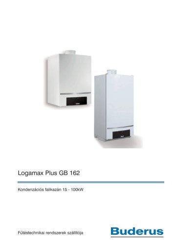 Logamax Plus GB 162 - Buderus Hungária Fűtéstechnika Kft.