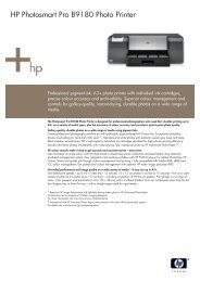HP Photosmart Pro B9180 Photo Printer - Who-sells-it.com
