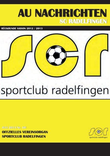 60. AU-Nachrichten 2013 - SC Radelfingen
