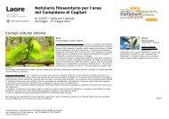 Notiziario fitosanitario per l'area del Campidano di Cagliari