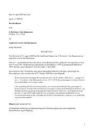 1 Den 19. april 2010 blev der i sag nr. 61/2008-R ... - Revisornævnet
