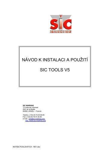 SIC tools (CZ) - SIC-Venim s.r.o.