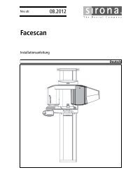Facescan - Sirona Support