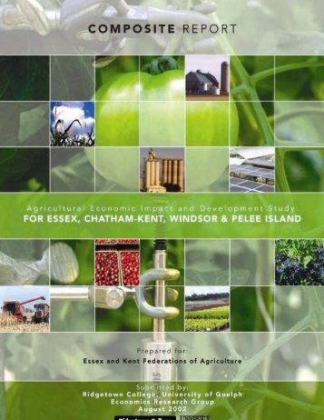 Agricultural Economic Impact and Development Study