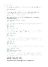 Laboratorium 1. 1. Napisz funkcję middle :: [a] -> a, która zwraca ...