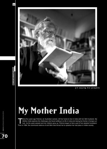 to download MY MOTHER INDIA study guide - Ronin Films