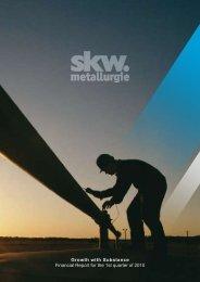 Download - SKW Stahl-Metallurgie Holding AG