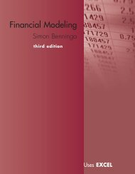 Financial Modeling Uses Excel, 3rd Ed