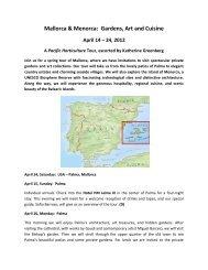 Mallorca & Menorca: Gardens, Art and Cuisine - Sterling Tours