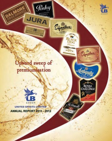 UBHL annual report - United Spirits Limited