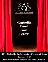 Program - NC Center for Nonprofits