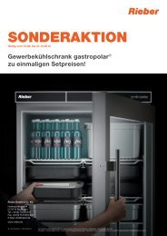 gastropolar ® ORDNUNG - Rieber GmbH & Co. KG