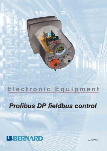 Profibus DP fieldbus control Electronic Equipment
