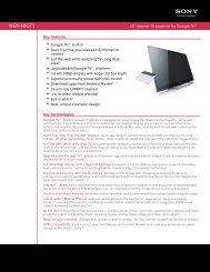 NSX-40GT1 - Network Spectrum, Inc.