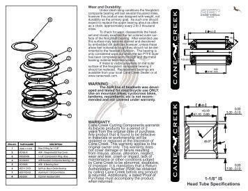 Cane Creek Crono Wheel Instructions: Zonos DISC
