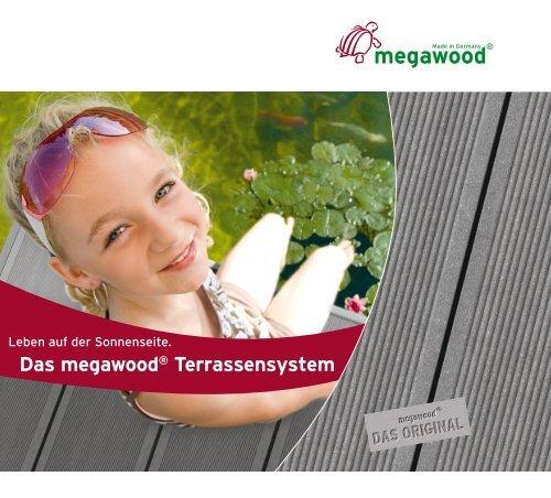 Das megawood® Terrassensystem - Witec