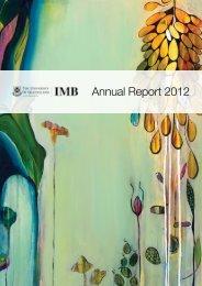 Annual Report 2012 - Institute for Molecular Bioscience - University ...