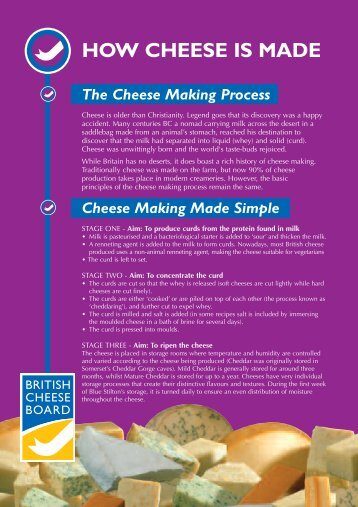 A5 Leaflets.qxd - British Cheese Board
