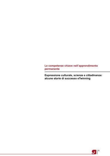 Le competenze chiave nell'apprendimento permanente Espressione ...