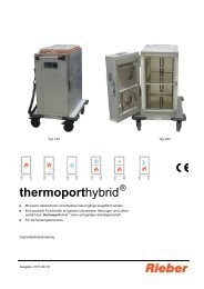 thermoporthybrid - Rieber GmbH & Co. KG