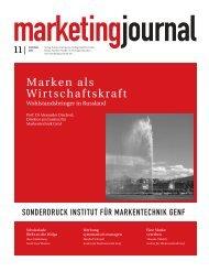 PDF, 1,7 MB - Institut für Markentechnik Genf