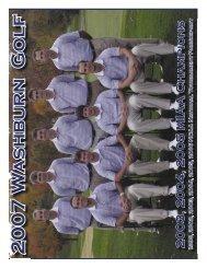 2007 Golf Guide.indd - Washburn Athletics
