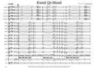 Knock on Wood - A4 published score - LLA2195 - Lush Life Music
