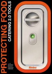 Prosp._Catering_2.0_tools_dt.pdf - Rieber GmbH & Co. KG