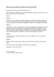 Besluiten premievaststelling WW ZW WAO 2006, 13 ... - UWV