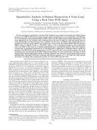 Quantitative Analysis of Human Herpesvirus 8 Viral Load Using a ...