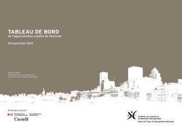 Perspectives 2010 - Chambre de commerce du Montréal métropolitain