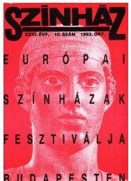 a színikritikusok díja 1992/93 - Színház.net