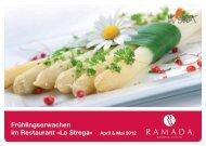 F&B Postkarte A6 Fruehling RZ.indd - Ramada Hotels