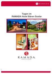 Tagungsangebote 2013 - Ramada Hotels