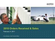 Sales Development - Rieter