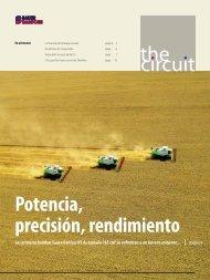the circuit Potencia, precisión, rendimiento - Sauer-Danfoss