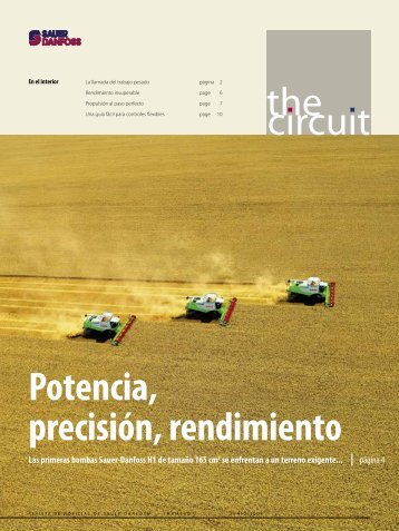 the circuit Potencia, precisión, rendimiento - Sauer-Danfoss