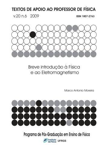 Breve introdução à Fisica e ao Eletromagnetismo - Instituto de Física ...