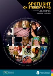Spotlight on Stereotyping.pdf (size 10.9 MB) - Equality Authority