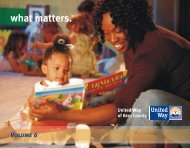 NewsLetter 2007 Volume 6 - United Way of Kern County